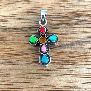 Silpada Sterling and gemstone pendant
